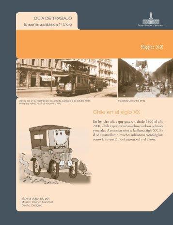 Siglo XX (NB1 / NB2) - Estación de las Artes
