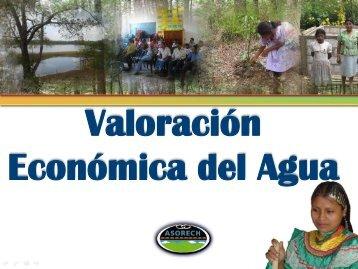 El Valor Económico del Agua - asorech