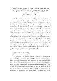 LAS CONDICIONES DE VIDA Y LABORALES DURANTE EL ...