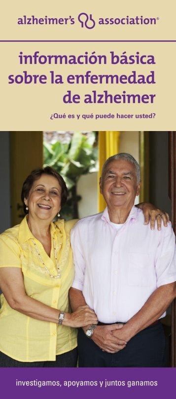 Información Básica Sobre le Enfermedad de Alzheimer - Alzheimer's ...