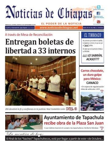 ELECTRONICA 25 DE SEPTIEMBRE 2012.indd - Noticias de Chiapas