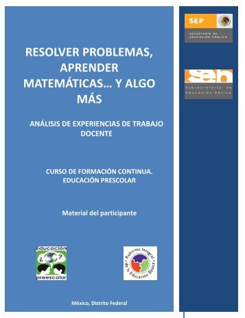 Resolver problemas, aprender matemáticas… y ... - Guias de Estudio
