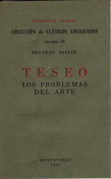Teseo. Los problemas del arte - Archivo de Prensa