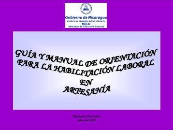 Artesania - Portal Educativo Nicaragua Educa