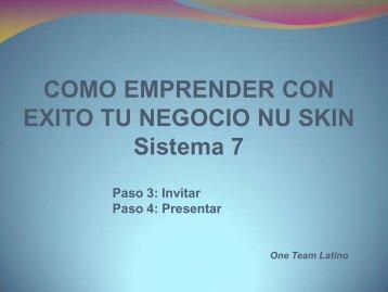 Como Invitar y Presentar - One Team Latino