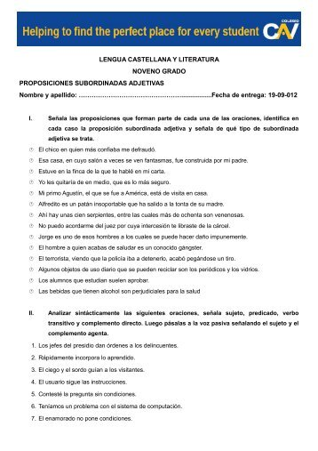 LENGUA CASTELLANA Y LITERATURA NOVENO ... - Aula Viva