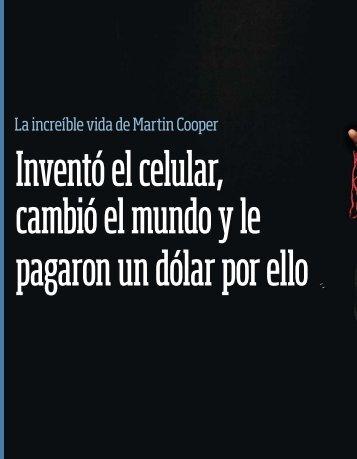 La increíble vida de Martin Cooper - Emeequis