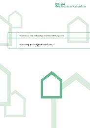 Monitoring Wohnungswirtschaft 2001 - Sächsische AufbauBank ...