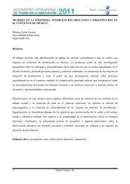 MUJERES EN LA FRONTERA: INTERVENCIÓN EDUCATIVA Y ...