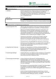 Vorhaben zur Vereinbarkeit von Familie und ... - Freistaat Sachsen