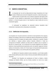 ¿Que es Impuesto? - Facultad de Economía - UNAM