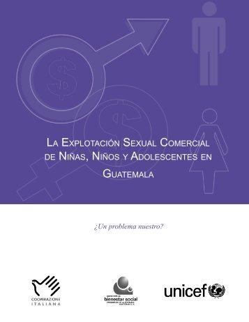 Explotacion Sexual Comercial de Niñas, Niños y ... - DNI Costa Rica