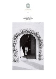 please click here to see our Wedding Folder - Gran Hotel Son Net