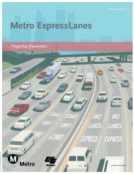 Metro ExpressLanes - Preguntas Frecuentes