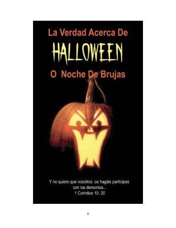 La Verdad Acerca Del Halloween.pdf