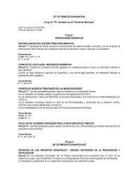 Ley de Tributación Municipal