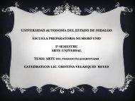 Arte Paleocristiano - Universidad Autónoma del Estado de Hidalgo