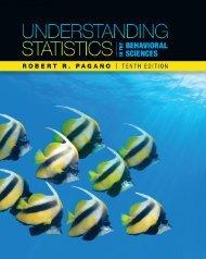 Understanding Statistics in the Behavioral Sciences ... - NelsonBrain