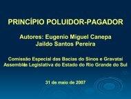 PRINCÍPIO POLUIDOR-PAGADOR - Assembléia Legislativa