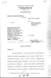 Crim Case/s 28085 - People vs. Faelnar, et al - Sandiganbayan