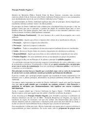 Artigo 112 - Princípio Poluidor Pagador I - Outorga