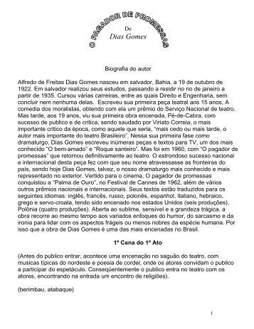 O Pagador de Promessas - Dias Gomes - Cia. Atelie das Artes
