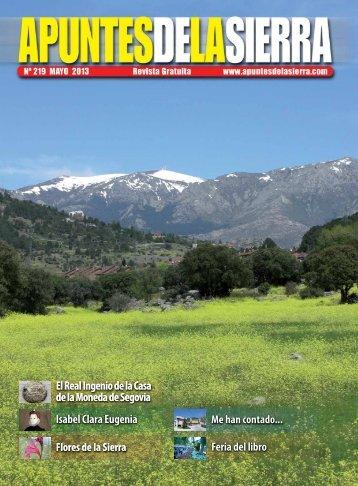 nº 219 Mayo 2013.pdf - Apuntes de la Sierra