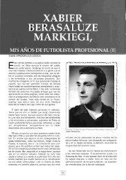 XABIER BERASALUZE MARKIEGI, MIS AÑos DE ... - Ostolaza.org