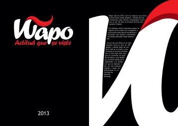 catálogo - Playeras Wapo Actitud que se viste, Playeras 100 ...