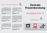 Zentrale Frauenberatung Nr. 10 - Ambulante Hilfe Stuttgart