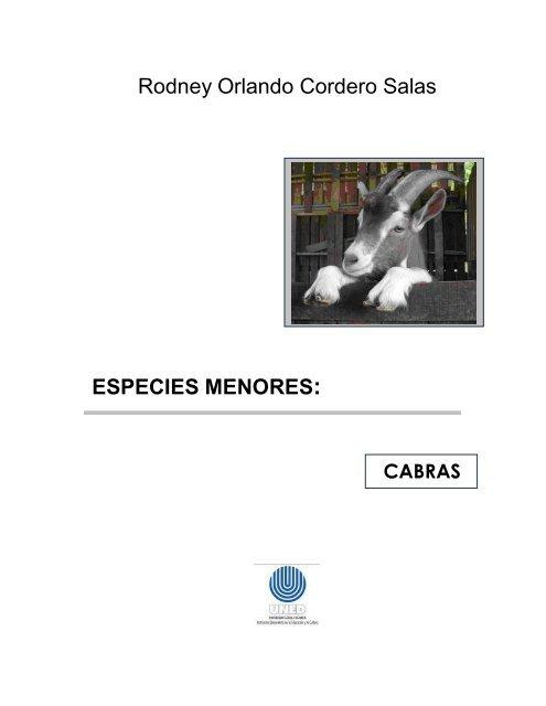 Modulo Cabras Resumido Pdf Repositorio De La Universidad