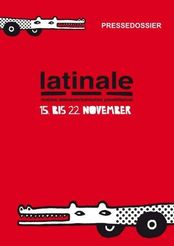 Special Guests der Latinale 2008 - Instituto Cervantes Berlin