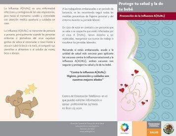 triptico embarazadas 2.1 - Dirección General de Promoción de la ...