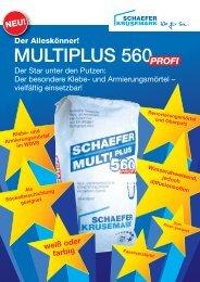 MULTIPLUS 560PROFI - SCHAEFER KRUSEMARK