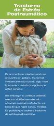 Trastorno de Estres Postraumatico - NIMH