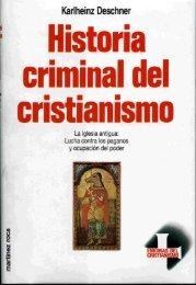 5. Historia criminal del cristianismo - Paganos de Costa Rica