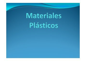 Apuntes de plasticos 1