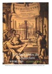 Portada: Vitruvio, en J. de Laet, M. Vitruvii - Historia Antigua