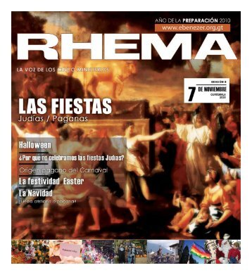Descargar Revista Rhema2.09 MB - Ministerios Ebenezer Guatemala