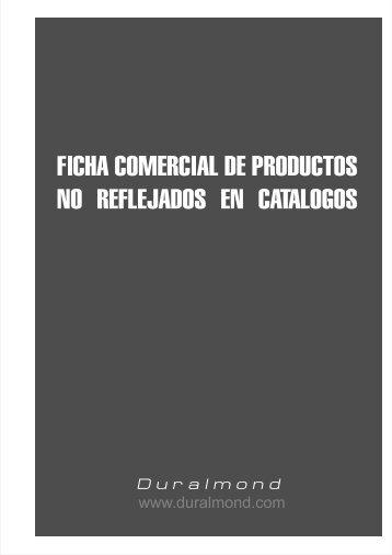 Productos no reflejados en catalogos - Duralmond
