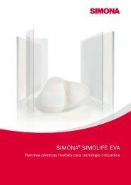 Flyer SIMONA® SIMOLIFE EVA - Simona AG