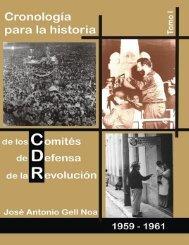 Cronología para la Historia de los CDR. Texto.