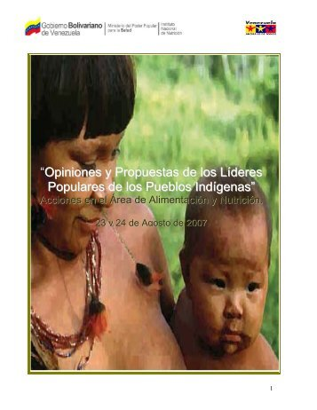 """""""Opiniones y Propuestas de los Líderes Populares de los Pueblos ..."""