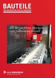Aluminium- Recycling — ökonomisch und ... - Alu Menziken