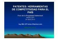 patentes: herramientas de competitividad para el país - Biblioteca ...