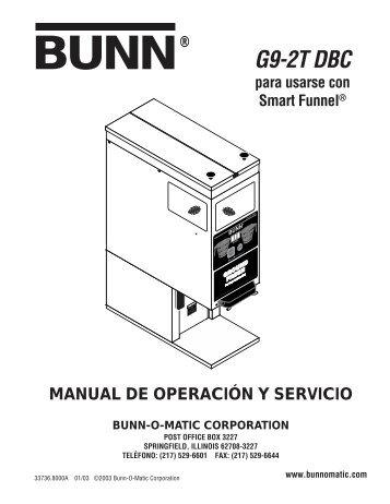 G9-2T DBC para usarse con Smart Funnel