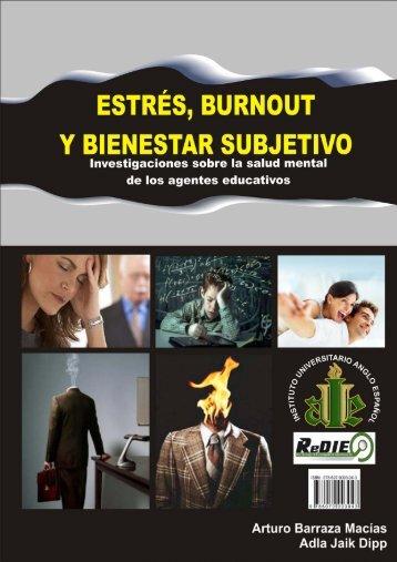 estrés, burnout y bienestar subjetivo - redie