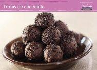 Trufas de chocolate - Disco