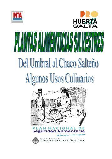 Plantas alimenticias silvestres - Salta.pdf - INTA