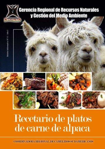 Recetario de platos de carne de alpaca - Elcomercio